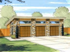 Modern Garage Plans car garage plans modern three car garage plan design 050g 0035