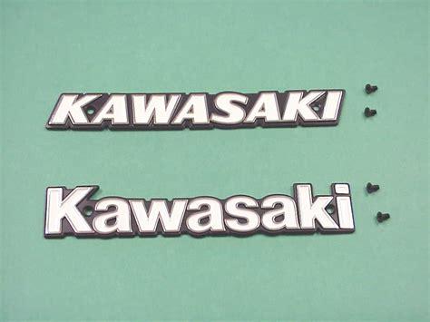 kawasaki emblem blank page