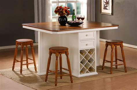 Kitchen Counter Table Design by Counter Height Kitchen Tables Kitchenidease Com