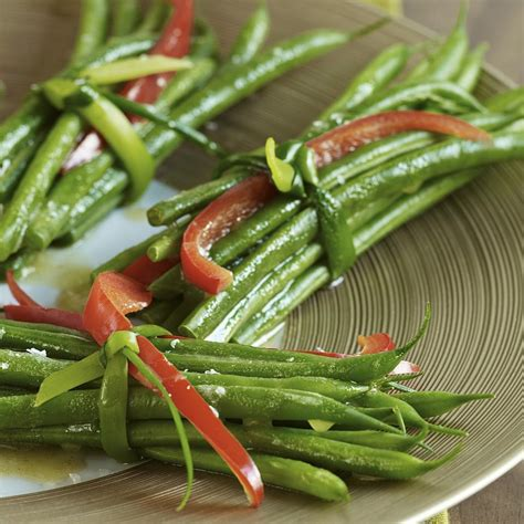 christmas side dish recipes eatingwell green bean bundles with garlic browned butter recipe