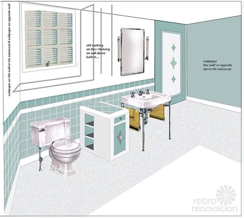 bathroom drawings bathroom drawing retro bathroom tile drawing tsc