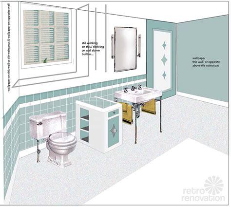 bathroom drawing bathroom drawing retro bathroom tile drawing tsc