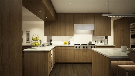 animation  kitchen  livingroom furnishing process