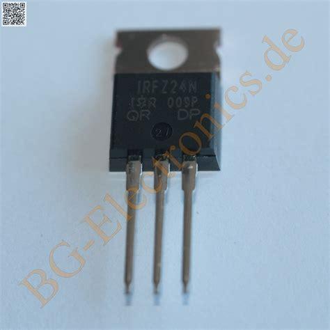 Transistor Irfz24n irfz24n bg electronics irfz24n