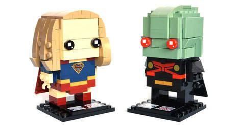Lego Brickheadz Sdcc 41497 Spider Venom Original 13 14 supergirl martian manhunter lego brickheadz set 41496