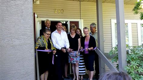 amethyst house amethyst house officially opens my comox valley now