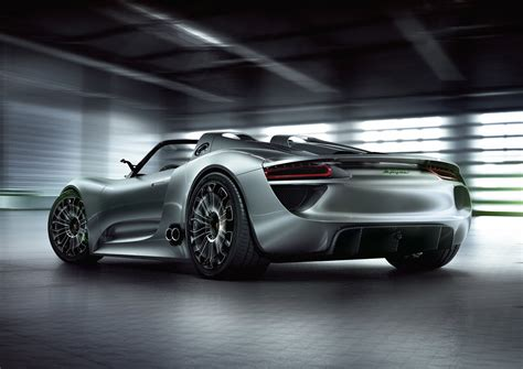 Porsche Production by Porsche 918 Spyder Production Approved