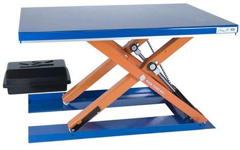 low profile mobile lift table low profile lift tables loprofile lift table series