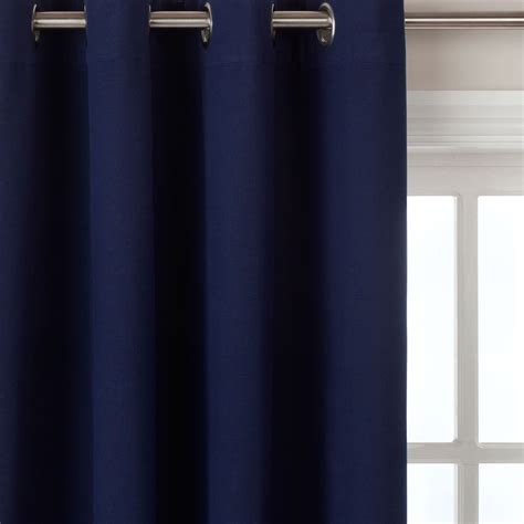 navy blue lined eyelet curtains john lewis cotton rib eyelet curtains navy blue review