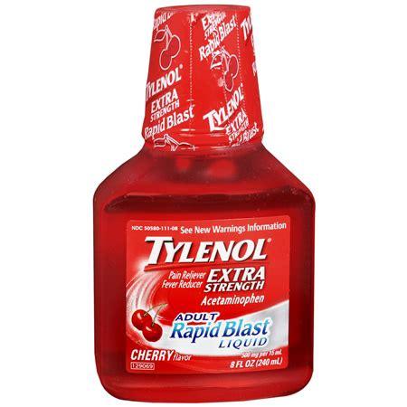 tylenol extra strength pain reliever & fever reducer