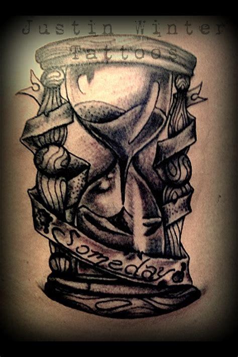 tattoo old school hourglass hourglass tattoo by justin winter seattle wa http