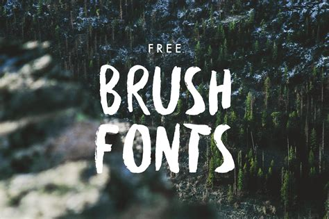 Futuristic Bathroom by 25 Hand Drawn Free Brush Fonts Hipsthetic