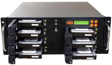 Hardisk Rm systor 1 6 sata disk drive hdd ssd rackmount duplicator sanitizer 150mb s sys206rmhdd