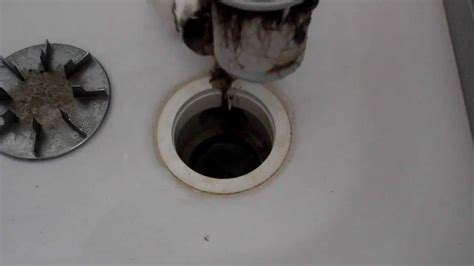 Badewannen Siphon by Abflussreinigung Teil 01 05 Duschabfluss 246 Ffnen
