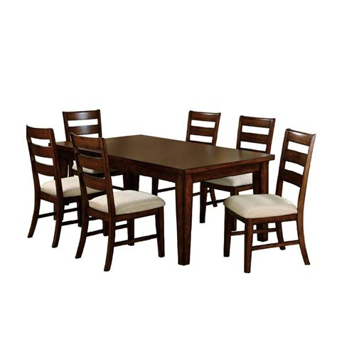 home depot dining room ls venetian worldwide priscilla i 7 piece antique oak dining