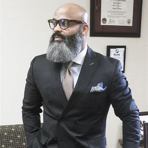 Grey Hair Style For Black by Fashion Styles For Bald Guys Trend Fashion