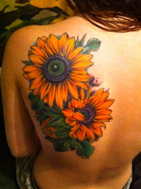 sunflower tattoo ideas sunflower tattoos