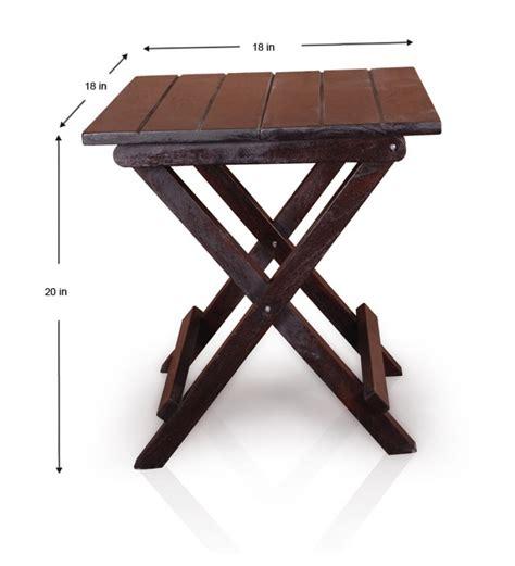 olida sheesham wood folding wooden stool by mudra