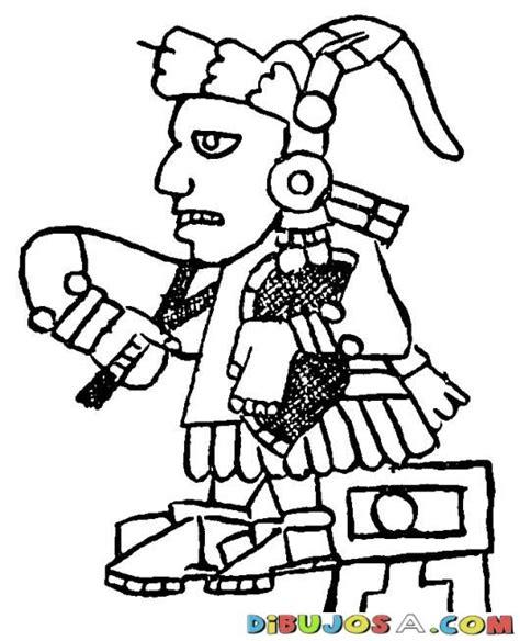 imagenes aztecas mayas dibujo azteca maya para colorear colorear mayas dibujo