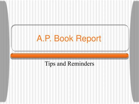 book report powerpoint presentation ppt a p book report powerpoint presentation id 2753857