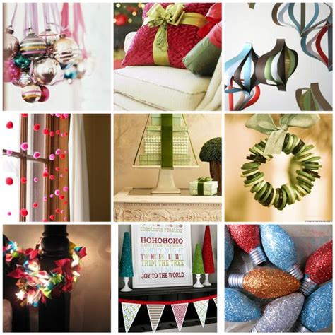 20 easy and frugal christmas and holiday decor projects