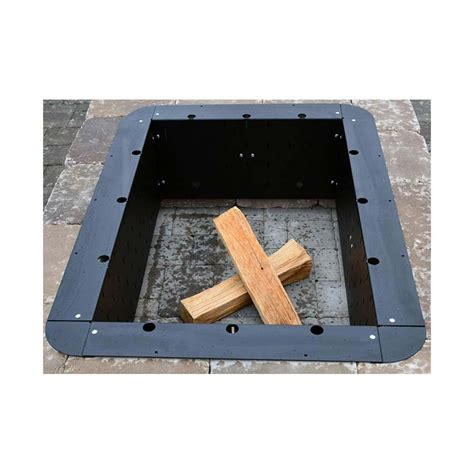fire pit insert square fire pit design ideas