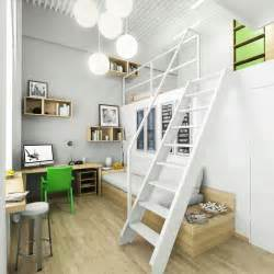 Home Designing Com Bedroom by Green White Home Study Bedroom Interior Design Ideas