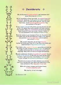 Quot desiderata by max ehrmann quot by ginny schmidt redbubble