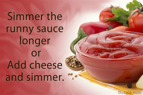 how to properly thicken tomato sauce to make a variety of