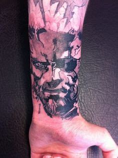 metal gear solid tattoo 1000 images about tattoos on occult