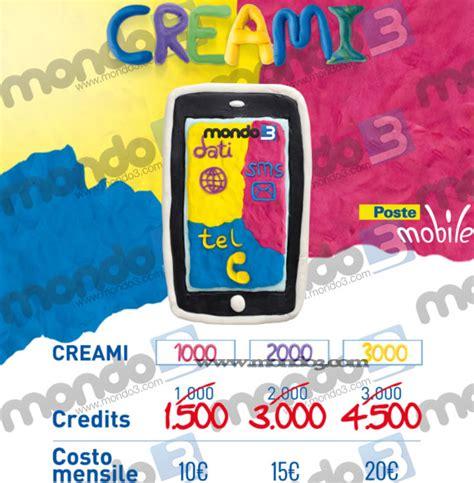 tariffa poste mobile nuova tariffa su misura postemobile creami anteprima