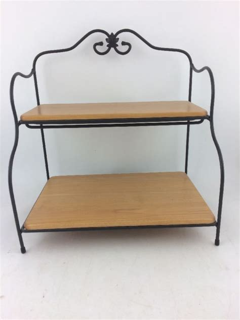 longaberger wrought iron shelves for sale collectibles