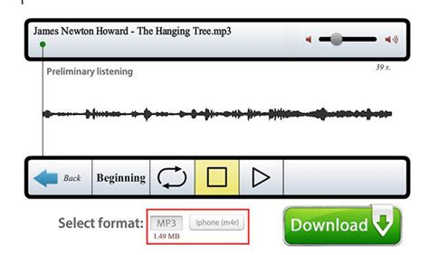 download mp3 cutter offline how to trim mp3 music file online and offline leawo