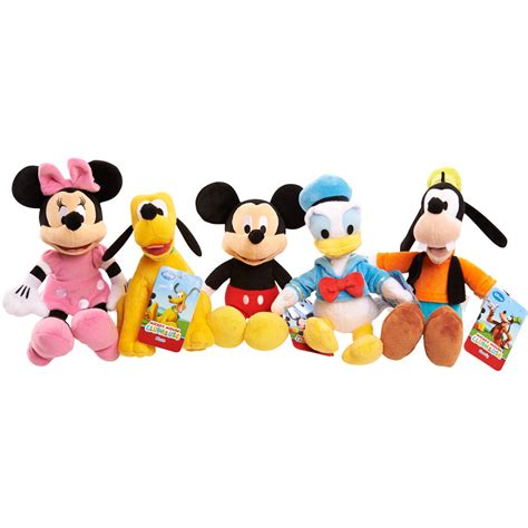 Mickey Mouse Clubhouse by Disney Mickey Mouse Clubhouse Plush Characters Animal