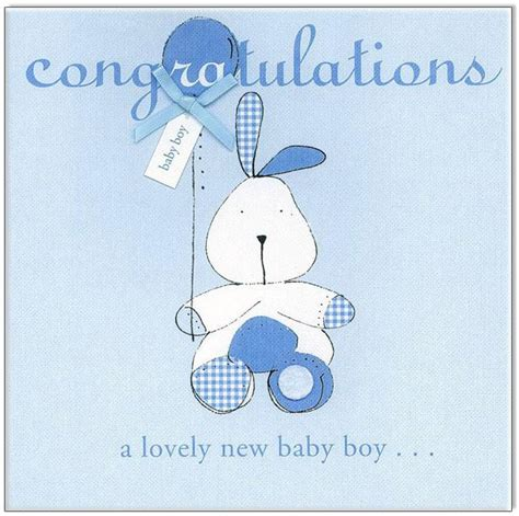 congratulations baby boy card template new baby cards tusk homewares gifts