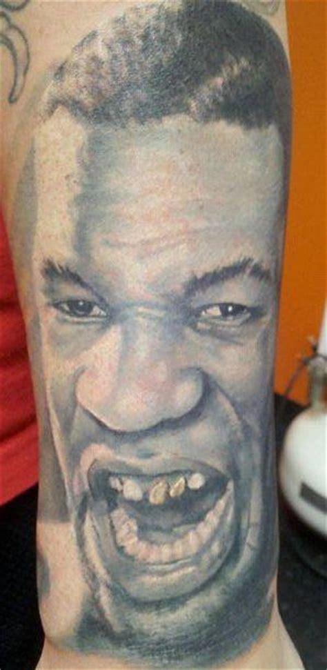 tyson tattoo app mike tyson mixed media by steve bishov