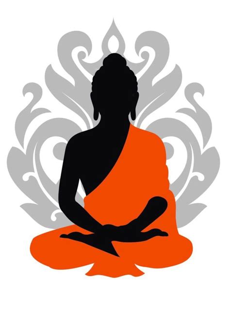 Tibetan Home Decor by Outline Of Buddha Clipart Best