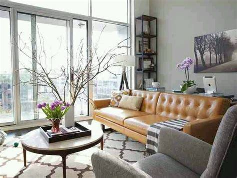 camel hued sofas  chairs design indulgences