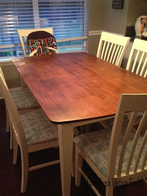 best finish for kitchen table general finishes gel stain in java for table top