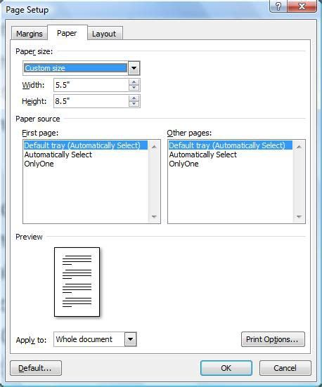 wpf print dialog printable area height add page numbers to half size pages in word cnet