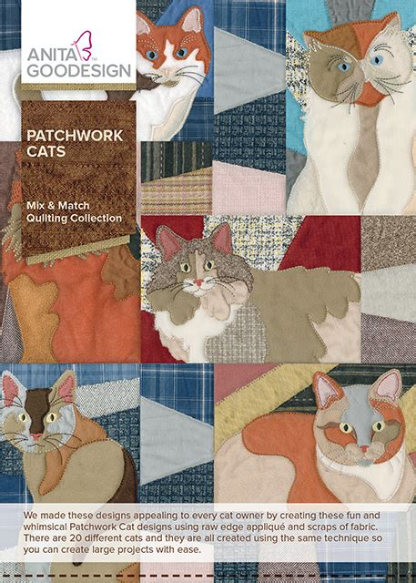Patchwork Cats - patchwork cats goodesign