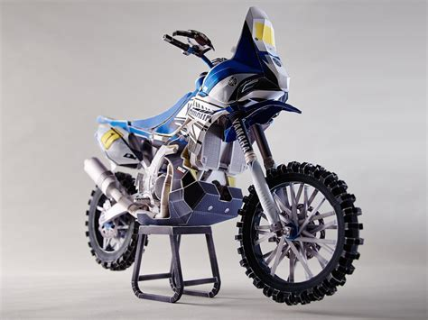 Papercraft Yamaha - topic get your own xtz850r yz450f rally paper model