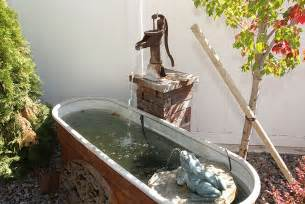 diy outdoor water feature southern idaho living