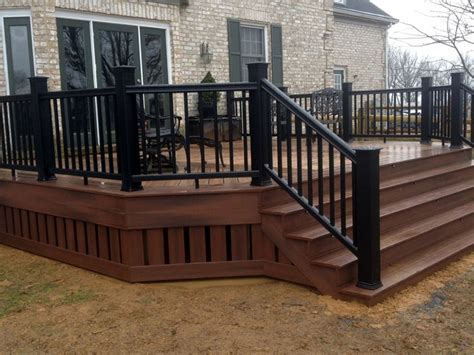 Black Deck Spindles 1000 Ideas About Black Deck On Decks Stained
