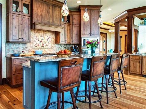 30 Unique Kitchen Island Designs Decor Around The World Rustic Kitchen Islands With Seating