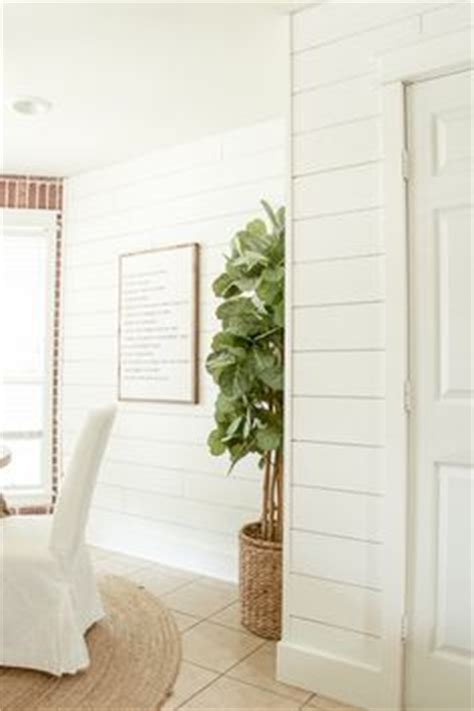 joanna gaines used sherwin williams quot alabaster quot for white shiplap walls color