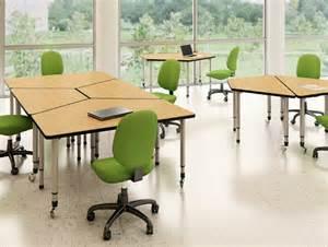 Desk Carrel Adaptables Computer Lab Tables Classroom Furniture