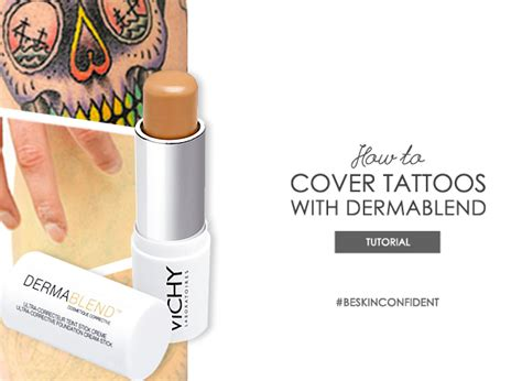 tattoo cover up cream dermablend cover up escentual s buzz