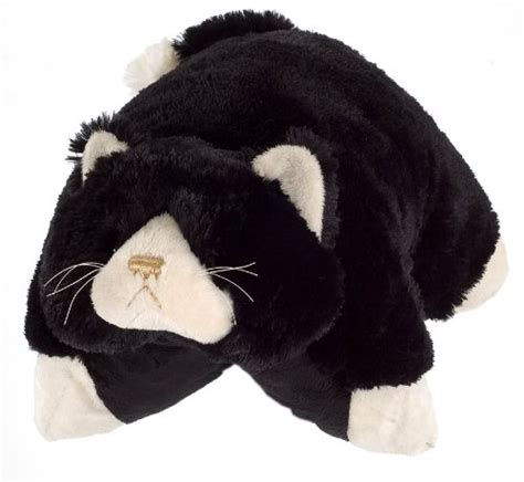 Cat Pillow Pet cheap my pillow pets ms cat 18 quot large black my pillow
