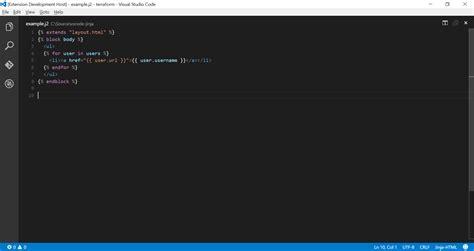 jinja templates github wholroyd vscode jinja visual studio code support
